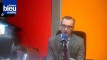 Jean-Carles Grelier le maire de la Ferté-Bernard