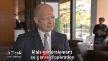"""Prise d'otages en Algérie : pour William Hague, les ravisseurs n'ont """"aucune excuse"""""""
