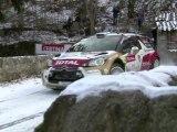 Citroën WRC 2013 - Rallye Monte-Carlo - Etape 1