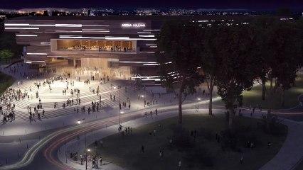 Projet d'Arena à Orléans