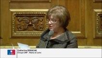 Catherine Deroche, Sénateur de Maine-et-Loire : Missions d'assistance des directions départementales des territoires et de la mer en matière de services publics d'eau et d'assainissement