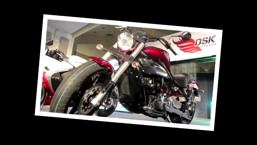 2013 Hyosung 650GV Aquila pro : First Look