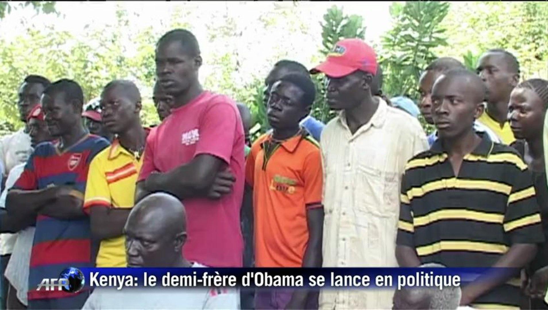 Le demi-frère kényan d'Obama se lance en politique au Kenya