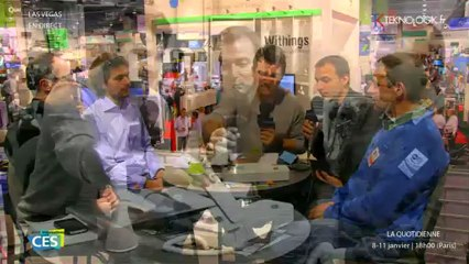 CES 2013  Jour 3 : la Quotidienne TEKNOLOGIK en direct de Las Vegas : Hapifork et les Français