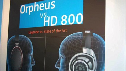 $30,000 Headphones!?! -- Sennheiser Orpheus and HD800 (CES 2013) - Unbox Therapy