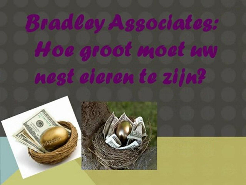 Bradley Associates: Hoe groot moet uw nest eieren te zijn?