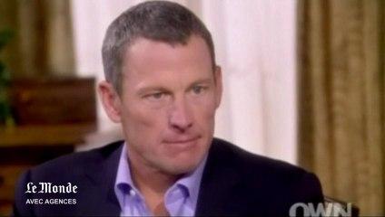 Lance Armstrong avoue s'être dopé pour remporter ses sept Tours de France - Vidéo Dailymotion