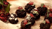 How To Make Christmas Pudding Canapes