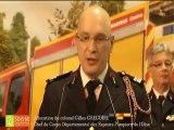 Les voeux du chef de corps départemental, le colonel Gilles GREGOIRE aux sapeurs-pompiers de l'Oise