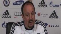 """Benitez: """"Zola al Chelsea? Penso a lavorare"""""""