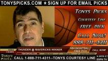 Dallas Mavericks versus Oklahoma City Thunder Pick Prediction NBA Pro Basketball Odds Preview 1-18-2012