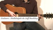 Cours guitare : jouer Halleluja de Jeff Buckley à la guitare - HD