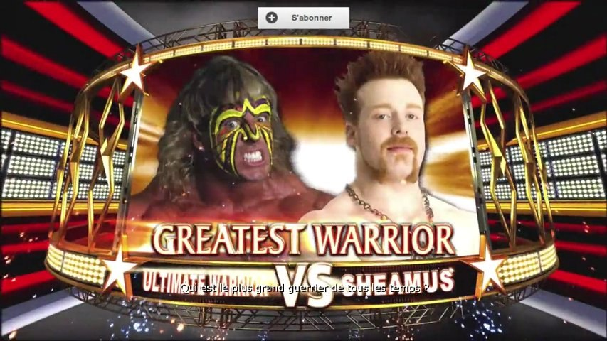 Fantasy Warfare WWE All Stars Ultimate Warrior/Sheamus by Bebette