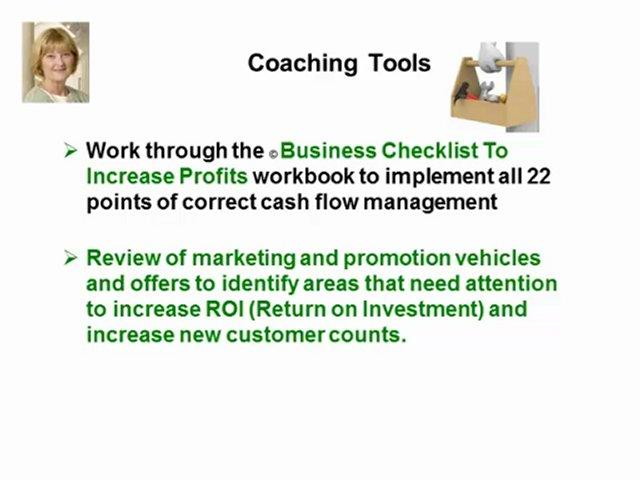 Small Business Cash Flow Coaching – Cash Flow Analysis Coach – Cash Flow Management Coaching