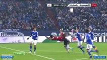 La bicyclette splendide de Mame Biram Diouf lors de Hanovre - Schalke 04