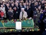 19 Ocak 2013 Mehmet Ali Birand Cenazesi ile Kanal D Televizyonu önündeki Tören LOGOSUZ