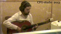 Antonio Rey recording with Andalusian Guitars models Santos Hernandez 1930 / 1927 Sound Portal  Undianuno wood / The Very Best Guitars of Spain Las Mejores Guitarras Flamencas de España CFG  / The Liberated Top & Carbon Fiber Nut
