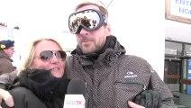 Fred Testot et Valérie Damidot au 16ème festival de l'Alpe d'Huez