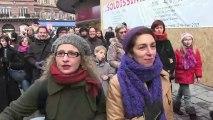 Manifestations pour le mariage pour tous à Rennes et Strasbourg