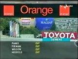 GP Brasile, Interlagos 2003 Fisichella si avvicina a Raikkonen