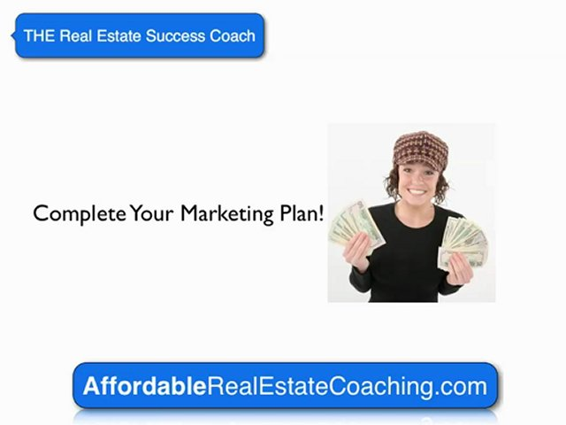 Real Estate Coach |  Marketing Plan   |  Real Estate Success Coaching