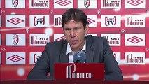 Conférence de presse LOSC Lille - OGC Nice : Rudi GARCIA (LOSC) - Claude  PUEL (OGCN) - saison 2012/2013