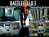 Battlefield 3 Montages - Beautiful Sniping In More Then One Way 6.0