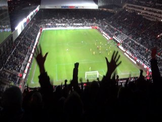 Newcastle Away last minute of the game 19/01/13