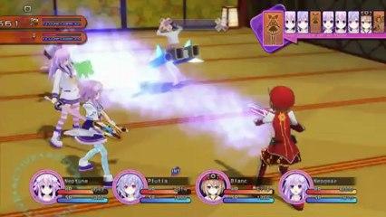 General Battle Footage de Hyperdimension Neptunia Victory