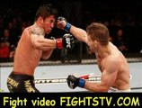 Nik Lentz and Diego Nunes trade vs in their featherweight at the UFC on FX