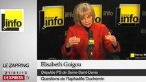 """Mali: """"Ce n'est pas à l'armée française d'aller reconquérir le nord"""", selon Elisabeth Guigou"""