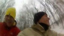 2013-01-20 , Sortie luge, David Etienne & Nico