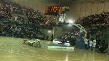 TREVOX: les Crazy Dunkers à la Pubeco Pévèle Arena à Orchies.