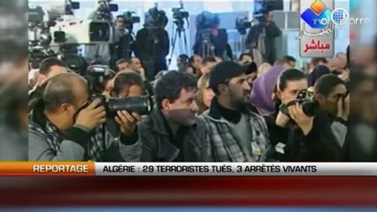 Algérie: 29 terroristes tués, 3 arrêtés vivants