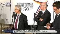 Évènements : Conférence de presse : Claude Bartolone (président de l'Assemblée nationale) et Norbert Lammert (président du Bundestag)