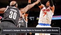 Warriors Edge Clippers; Nets Top Knicks