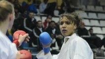Karate 1 Premier League 2013 - Anne Laure Florentin en bronze