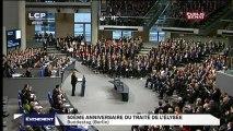 50 ème anniversaire du traité de l'Élysée.