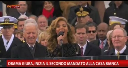 Beyoncé su SkyTg24 servizio su giuramento di Obama