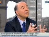 "Moscovici à Renault : ""ni licenciements ni fermetures de sites"""