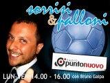 """Soccermagazine, intervista a Cristiano Lucarelli in """"Sorrisi e Palloni"""" su Radio Punto Nuovo"""