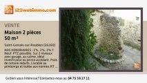 A vendre - maison - Saint-Gervais-sur-Roubion (26160) - 2 pi