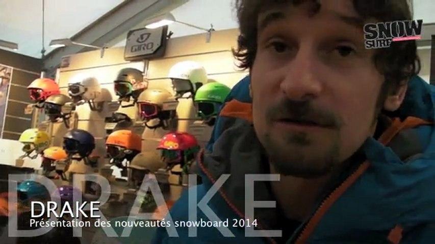 Drake : nouveautés snowboard 2013/2014