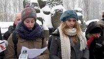 150 lycéens de Basse-Normandie découvrent  Auschwitz