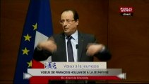EVENEMENT,Voeux de François Hollande à la jeunesse