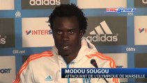 Marseille / Sougou : « Dans ma tête, c'est OM, OM, OM »