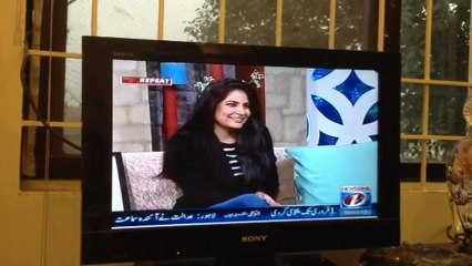 Soraya Sikander talks about her Bridal sculpture on the Morning show Tv1