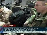 EE.UU. traslada tropas francesas y equipo militar a Malí