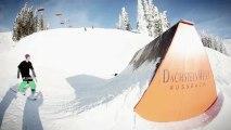 Snowpark Dachstein West: Bluebird Freeski Parkcheckout - 15-01-13