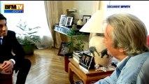 DOCUMENT BFMTV : Alain Delon parle de sa relation avec Florence Cassez 25/01